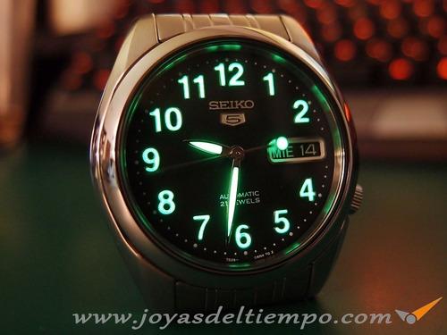 Reloj Seiko 5 Automatico Acero Inox. Snk381k1 Gtia 6914319447be