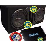 Combo Pioneer 311 Doble+ Caja Slot + Potencia Boss 1600+ Kit