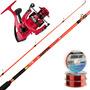 Equipo Pesca Kunnan Caña Vulcano 3 M + Reel Ww Vrf 5003