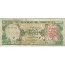 Ecuador 1000 Sucres P125a
