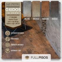 Porcelanato Oxido 30x60 Beige Brick Noce Blue. La Plata