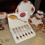 Set Tenedores De Postre Bañados En Oro Royal Albert England