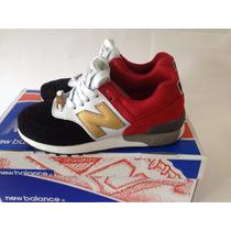 Zapatillas New Balance 576 C-cap Originales! C Cuero! Mujer