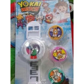 Reloj Yokai Watch Con Luz Y Sonido