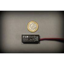Destellador Electronico Leds Moto Custom 6v/12v Micro!