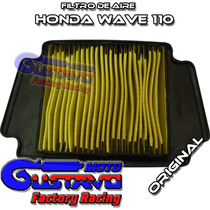 Filtro Aire Honda Wave 110 Original Solo En Motogustavo