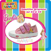 Zapatillas Barbie - Originales - Mundo Manias