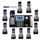 Inalambrico Central 2 Lineas Y 10 Handys Contestador Interc