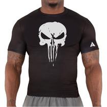 Remera Crossfit Gym Punisher  A Rage Entrenamiento Deportiva