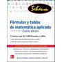 Formulas Y Tablas De Matematica Aplicada 4ª Ed Lipschutz