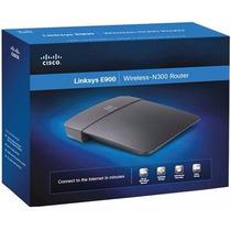 Router Linksys Cisco E900 Wifi N 300 Mbps 2.4 Mac Win N300