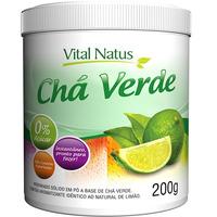 Cha Verde (Sabor Limao) 200g - Vital Natus