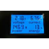 Medidor De Consumo Electrico. Voltimetro. Amperimetro.