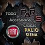 Paragolpe Trasero Original Fiat Palio 97-00 Y Mas