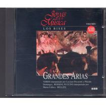 Joyas De La Musica - Grandes Arias Los Bises Cd Vol. 13