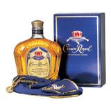 Whiskey Crown Royal Whisky D Litro Botella C/funda Y Estuche