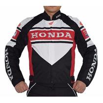 Campera De Moto Honda, Pads,nueva!