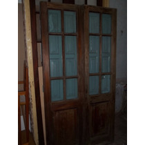 Puertas Antiguas Vidrio Repartido