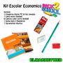 Kit / Set / Combo Escolar 5 Piezas Super Economico