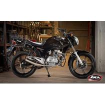 Honda 150 Titán 2015 - Soportes Laterales Para Baúles Negro