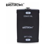 Conversor Adaptador Audio Digital Coaxial A Optico Toslink