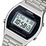 Reloj Casio B-640wd-1a Retro 50m Wr Alarmas Acero Local Cent
