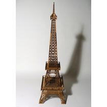 Torre Eiffel Fibrofacil Mdf 63 Cm De Alto