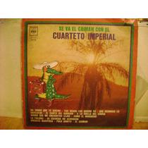 Cuarteto Imperial Se Va El Caiman Disco Vinilo Lp