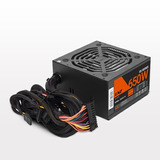 Fuente Pc Gaming 650 Watts Lnz Sx650-fs Mallado Cooler 120mm