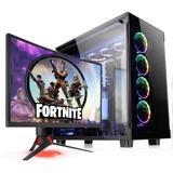 Pc Gamer Amd A8 9600 8gb (2x4gb) Ssd 120gb Juga Fortnite