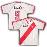0d44253c1 Camiseta Retro River Plate  9 Enzo Francescoli 1986  fate