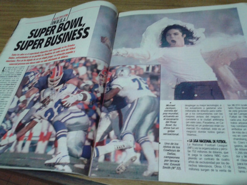 El Gráfico 3827 M- Super Bowl Michael Jackson /  King Fahd