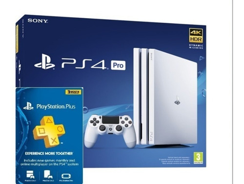 Consola Ps4 + 3 Meses Plus + Juego + Online
