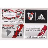 River Libertadores Sudamericana Colección
