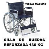 Silla De Ruedas Desmontable Obeso Doble Cruceta Moron