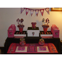 Golosinas Personalizadas Candy Bar Monster High