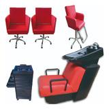 Lavacabeza+2 Sillon+silla Niño+ayudante Envio Incluido