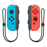 Joystick Nintendo Joy-con Rojo Neón/azul Neón