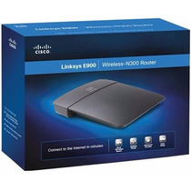 Router Linksys Cisco E900 Wifi N 300 Mbps 2.4 Mac Win N300