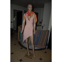 Sarkany Vestido De Modal Color Rosa Promo