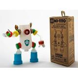 #diadelniño Robot Kit Para Armar El Tuyo Con Plástico Recicl