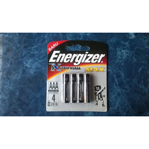Pilas Energizer Max Aaa Triple A Blister X4