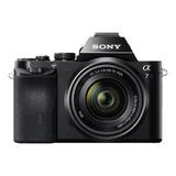 Sony  Alpha Alpha 7 28-70mm Oss Kit Sin Espejo Negra