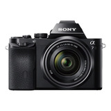 Sony Alpha 7 28-70mm Oss Kit Sin Espejo Color Negro