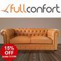 Sofa Sillon Chester Chesterfield 3 Cuerpos Linea Premium
