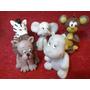 Adorno De Torta Animales En Porcelana Fria