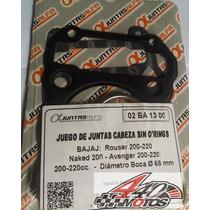 Bajaj Rouser 200 / 220 1/2 Juego De Juntas Motos440!!