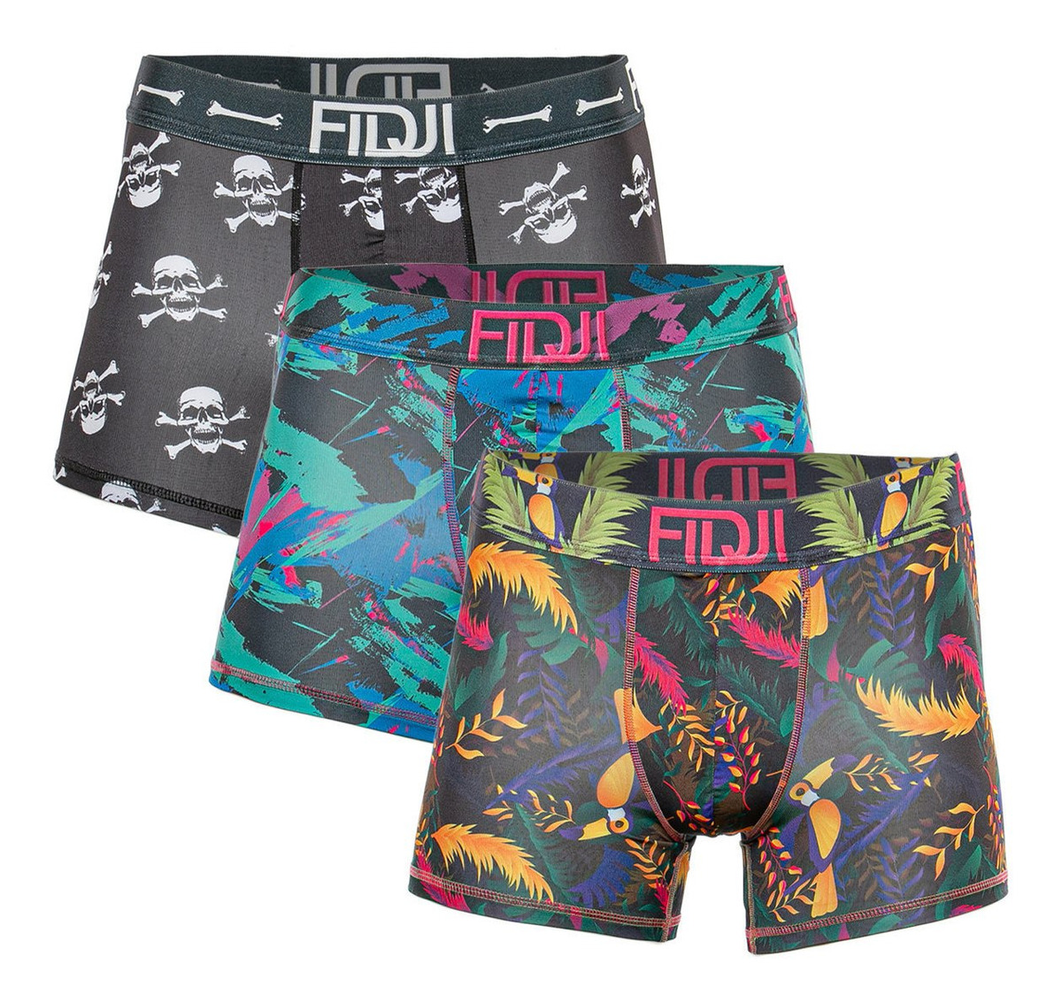 Pack X 3 Boxer Fd Fidji Fidji Tienda Oficial