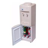 Dispenser De Agua Frío/calor Con Heladera Para Bidones