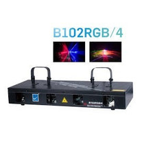 B102/rgbplaser De 4 Salidas, Rojo , Verde, Azul, Y Purpura
